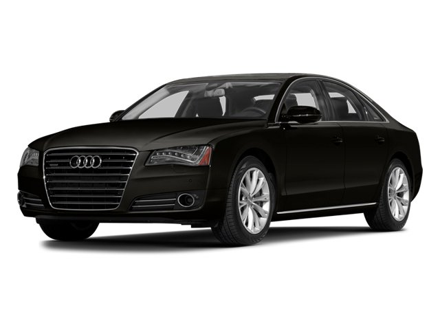2014 Audi A8 Pictures A8 Sedan 4D 4.0T AWD V8 Turbo photos side front view