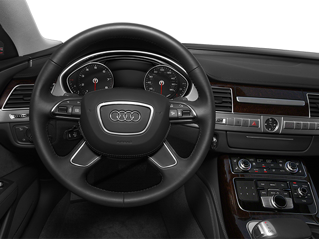 2014 Audi A8 Pictures A8 Sedan 4D 4.0T AWD V8 Turbo photos driver's dashboard