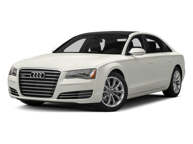2014 Audi A8 L Prices and Values Sedan 4D 4.0T L AWD V8 Turbo side front view