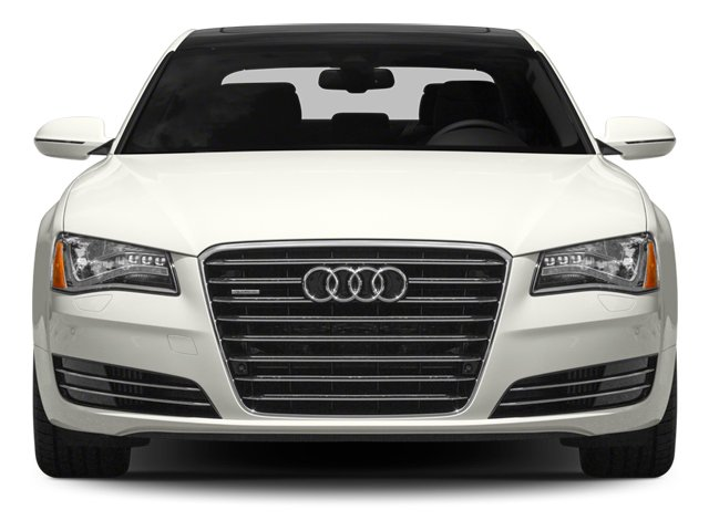 2014 Audi A8 L Prices and Values Sedan 4D 4.0T L AWD V8 Turbo front view
