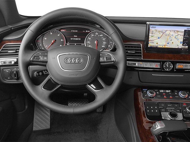 2014 Audi A8 L Prices and Values Sedan 4D 3.0T L AWD V6 Turbo driver's dashboard