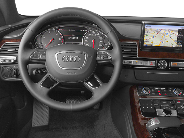 2014 Audi A8 L Prices and Values Sedan 4D 4.0T L AWD V8 Turbo driver's dashboard