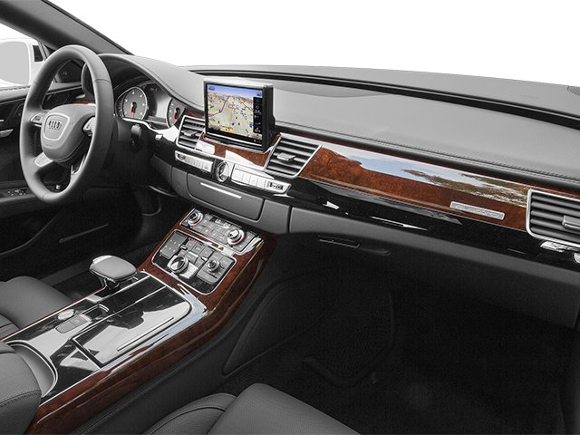 2014 Audi A8 L Prices and Values Sedan 4D 4.0T L AWD V8 Turbo passenger's dashboard