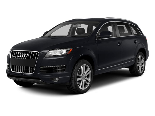 2014 Audi Q7 Pictures Q7 Utility 4D 3.0 Prestige S-Line AWD photos side front view