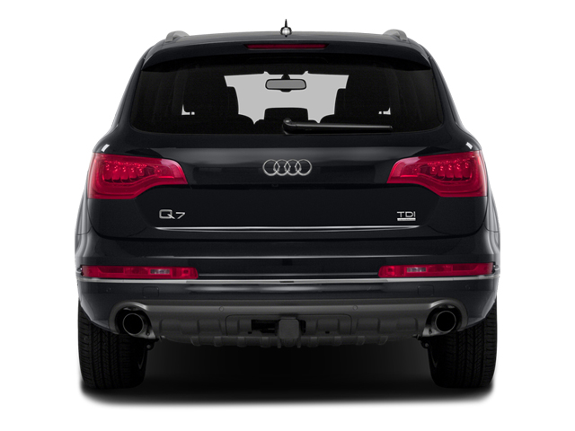 2014 Audi Q7 Prices and Values Utility 4D 3.0 Premium Plus AWD rear view