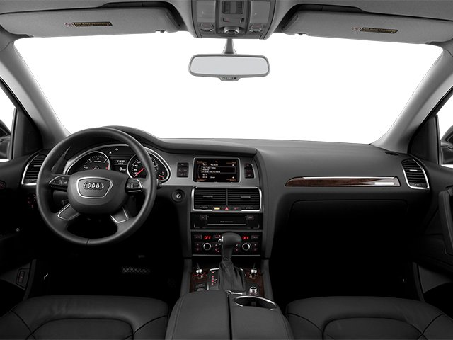 2014 Audi Q7 Prices and Values Util 4D 3.0 TDI Prestige S-Line AWD full dashboard