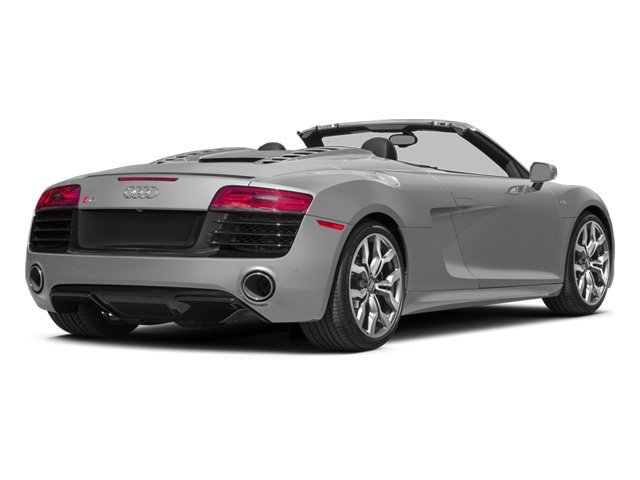 2014 Audi R8 Prices and Values 2 Door Convertible Quattro Spyder V10 (Auto) side rear view
