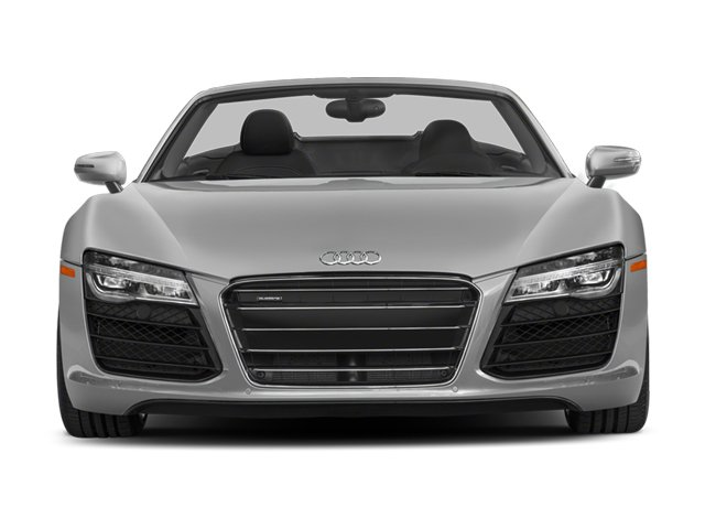 2014 Audi R8 Pictures R8 2 Door Convertible Quattro Spyder V10 (Manual) photos front view