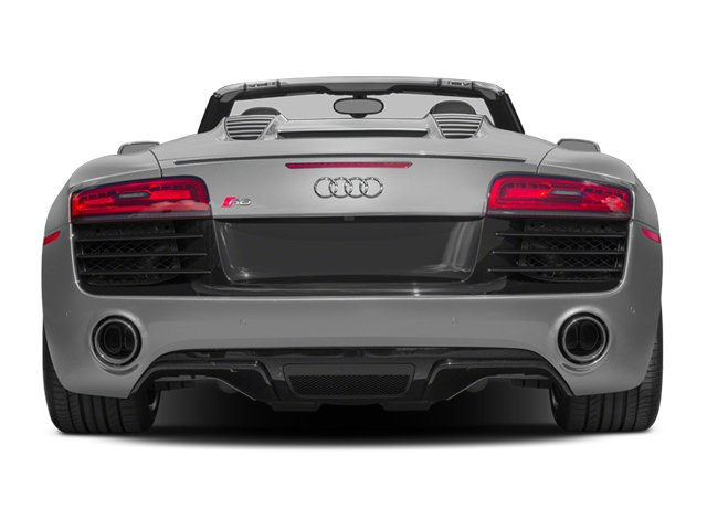 2014 Audi R8 Prices and Values 2 Door Convertible Quattro Spyder V10 (Auto) rear view