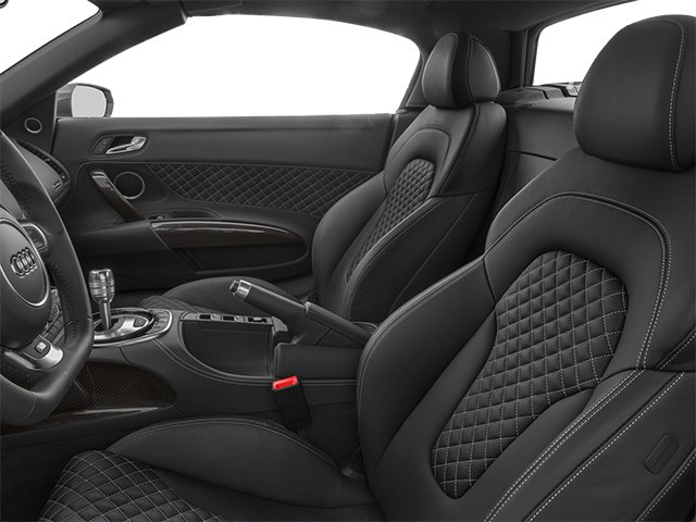 2014 Audi R8 Pictures R8 2 Door Convertible Quattro Spyder V10 (Manual) photos front seat interior
