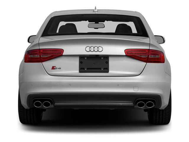 2014 Audi S4 Prices and Values Sedan 4D S4 Prestige AWD rear view