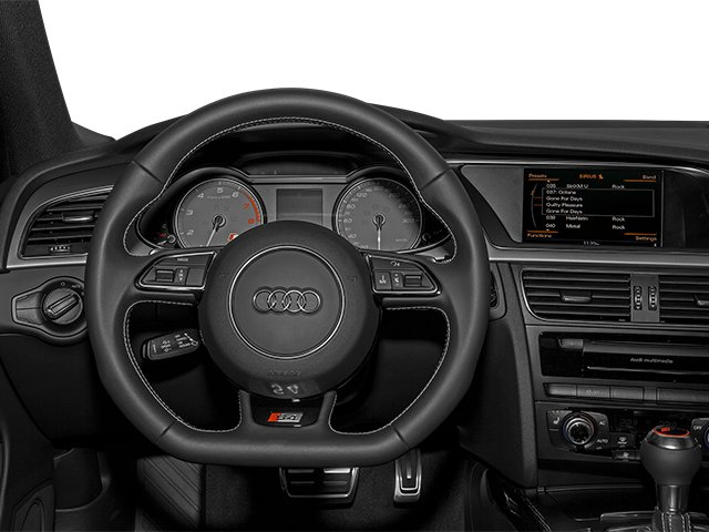2014 Audi S4 Prices and Values Sedan 4D S4 Prestige AWD driver's dashboard