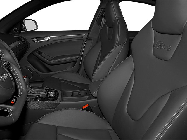 2014 Audi S4 Prices and Values Sedan 4D S4 Prestige AWD front seat interior