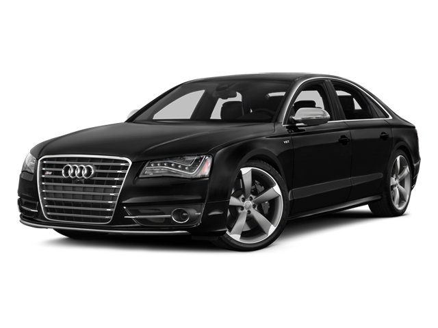 2014 Audi S8 Prices and Values Sedan 4D S8 AWD V8 Turbo side front view