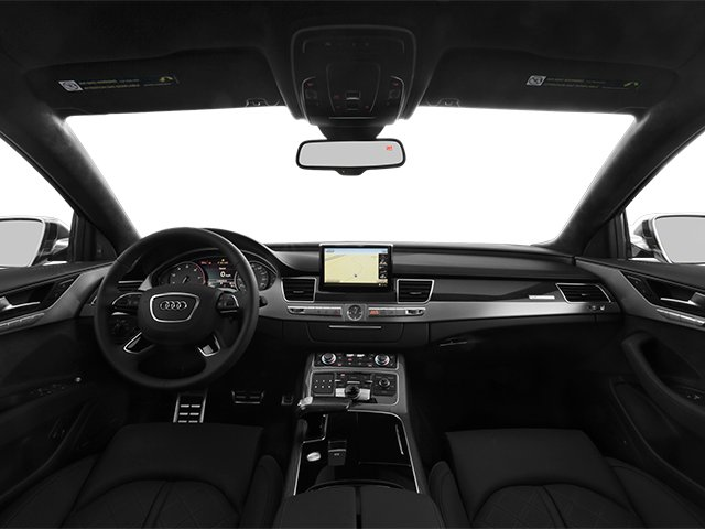 2014 Audi S8 Prices and Values Sedan 4D S8 AWD V8 Turbo full dashboard