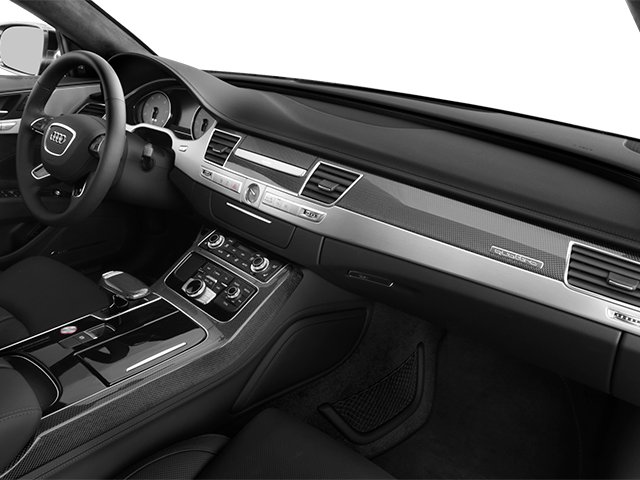 2014 Audi S8 Prices and Values Sedan 4D S8 AWD V8 Turbo passenger's dashboard