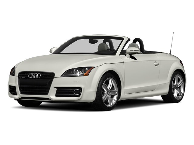 2014 Audi TT Prices and Values Roadster 2D AWD side front view