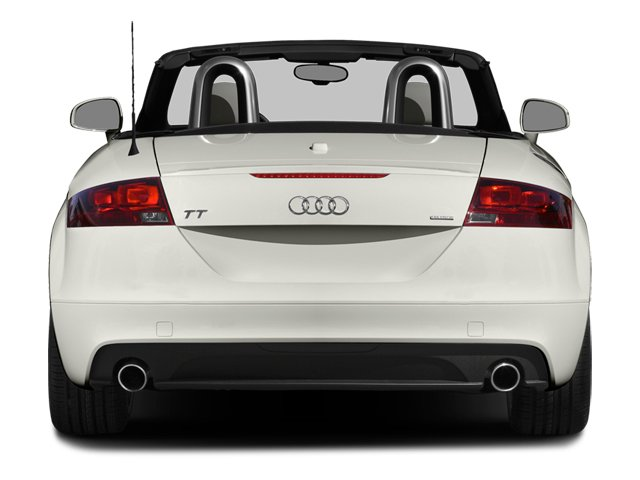 2014 Audi TT Prices and Values Roadster 2D AWD rear view