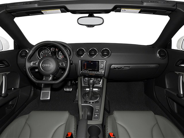 2014 Audi TT Prices and Values Roadster 2D AWD full dashboard