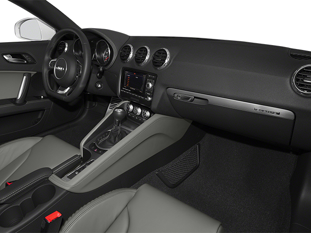 2014 Audi TT Prices and Values Roadster 2D AWD passenger's dashboard
