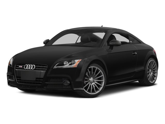 2014 Audi TTS Prices and Values Coupe 2D AWD side front view