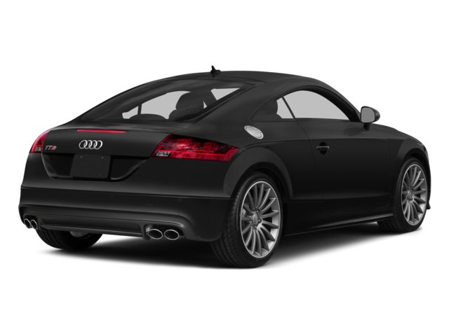 2014 Audi TTS Prices and Values Coupe 2D AWD side rear view