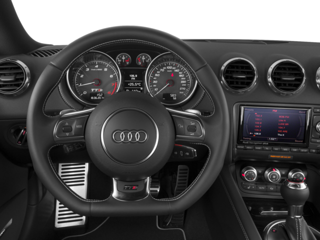 2014 Audi TTS Prices and Values Coupe 2D AWD driver's dashboard