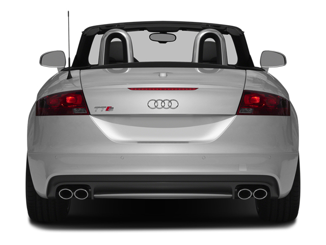 2014 Audi TTS Prices and Values Roadster 2D AWD rear view