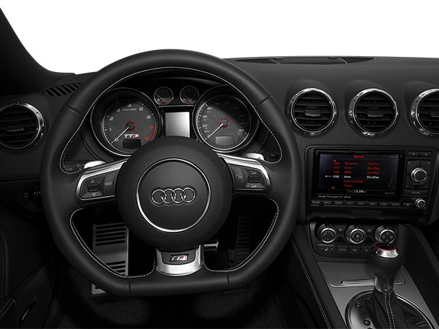 2014 Audi TTS Prices and Values Roadster 2D AWD driver's dashboard