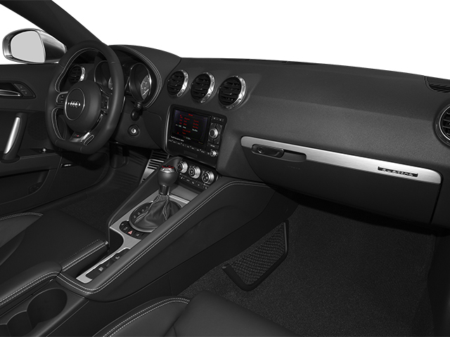 2014 Audi TTS Prices and Values Roadster 2D AWD passenger's dashboard