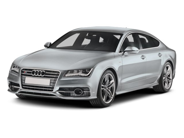 2014 Audi S7 Prices and Values Sedan 4D S7 Prestige AWD V8 side front view