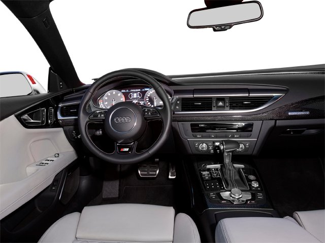 2014 Audi S7 Prices and Values Sedan 4D S7 Prestige AWD V8 full dashboard