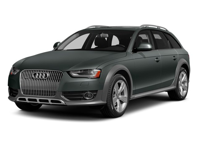 2014 Audi allroad Prices and Values Wagon 4D Premium Plus AWD I4 Turbo side front view
