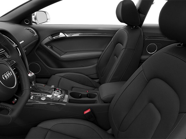 2014 Audi RS 5 Prices and Values Coupe 2D RS5 AWD V8 front seat interior