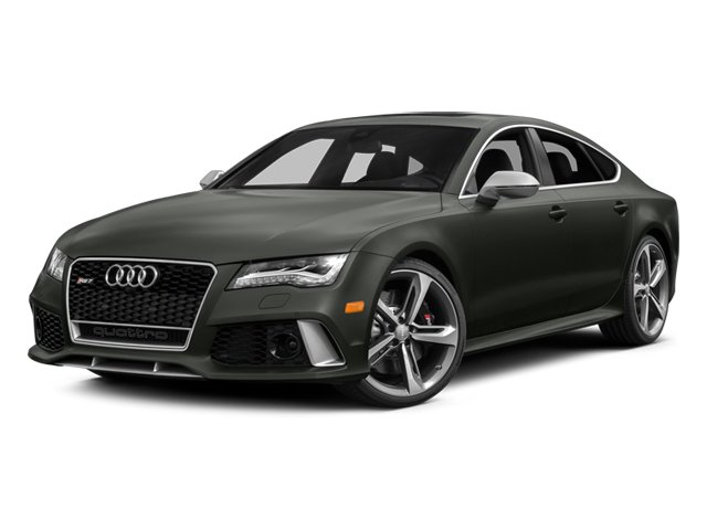 2014 Audi RS 7 Prices and Values Sedan 4D Prestige AWD side front view