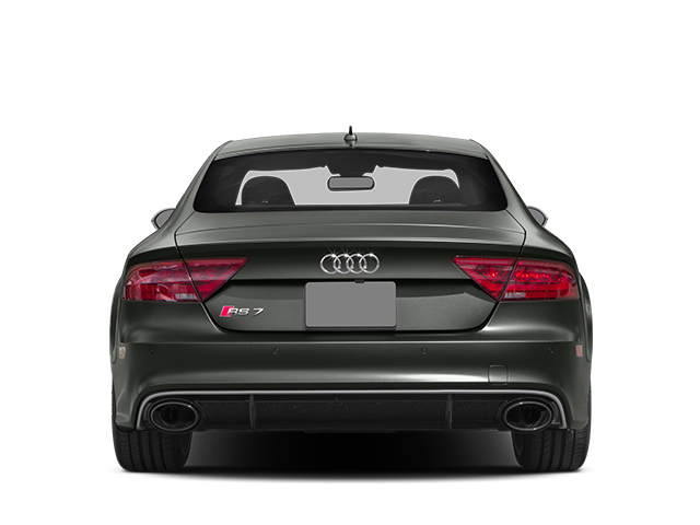 2014 Audi RS 7 Prices and Values Sedan 4D Prestige AWD rear view
