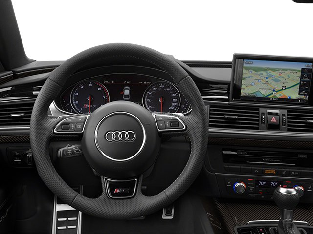 2014 Audi RS 7 Prices and Values Sedan 4D Prestige AWD driver's dashboard