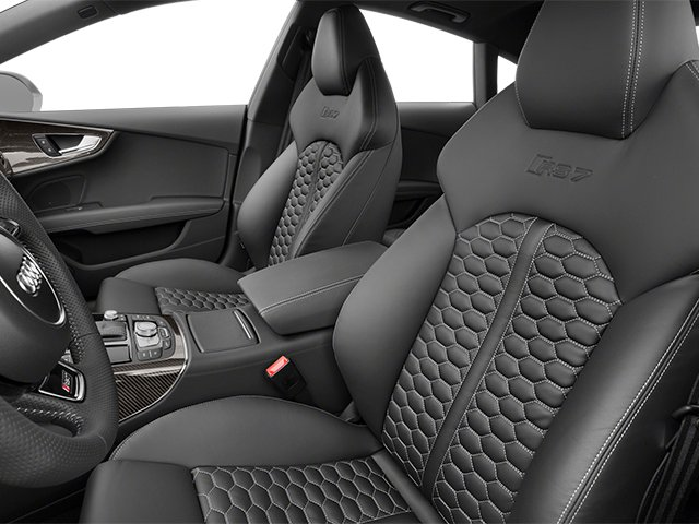 2014 Audi RS 7 Pictures RS 7 Sedan 4D Prestige AWD photos front seat interior
