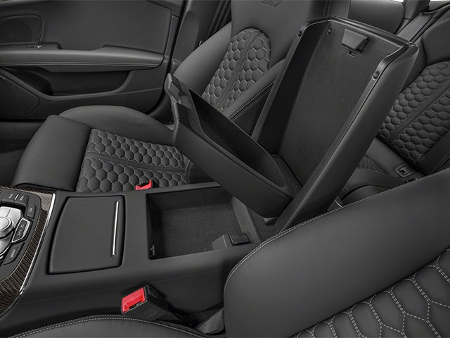 2014 Audi RS 7 Prices and Values Sedan 4D Prestige AWD center storage console