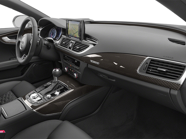 2014 Audi RS 7 Prices and Values Sedan 4D Prestige AWD passenger's dashboard
