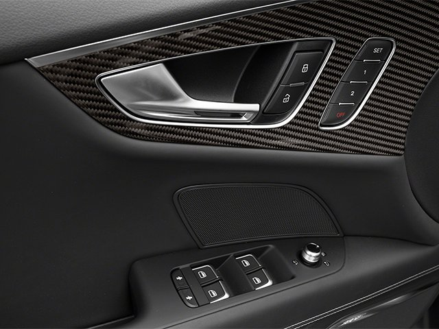 2014 Audi RS 7 Prices and Values Sedan 4D Prestige AWD driver's side interior controls