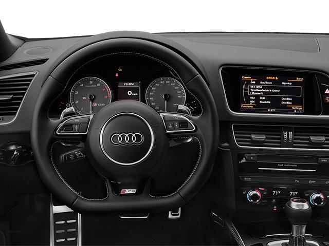 2014 Audi SQ5 Prices and Values Utility 4D Premium Plus AWD V6 driver's dashboard
