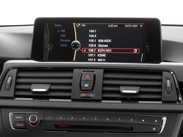 2014 BMW 3 Series Prices and Values Sedan 4D 328i I4 Turbo stereo system