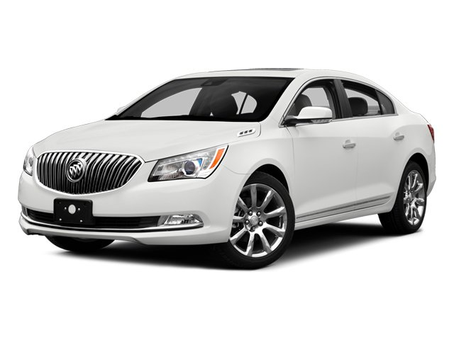 2014 Buick LaCrosse Prices and Values Sedan 4D Leather AWD V6 side front view