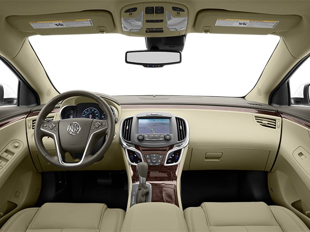 2014 Buick LaCrosse Prices and Values Sedan 4D Leather AWD V6 full dashboard