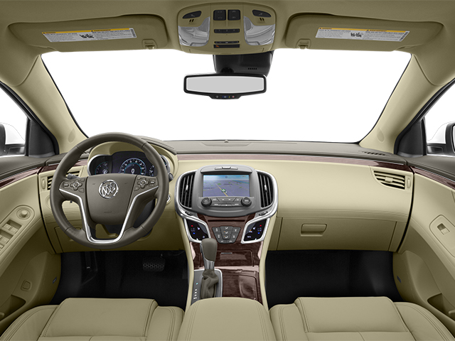 2014 Buick LaCrosse Prices and Values Sedan 4D V6 full dashboard