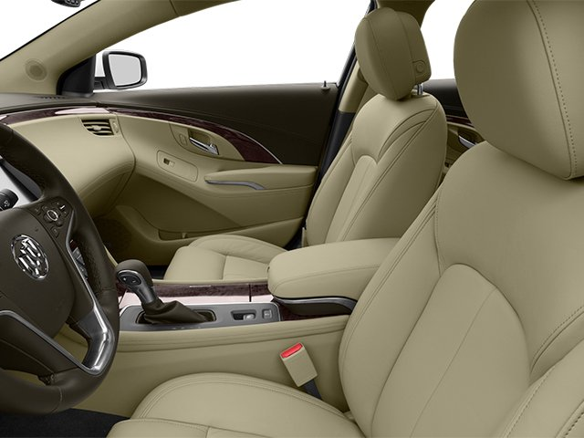 2014 Buick LaCrosse Prices and Values Sedan 4D V6 front seat interior