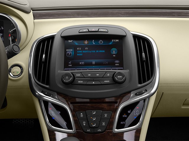 2014 Buick LaCrosse Prices and Values Sedan 4D Leather AWD V6 stereo system