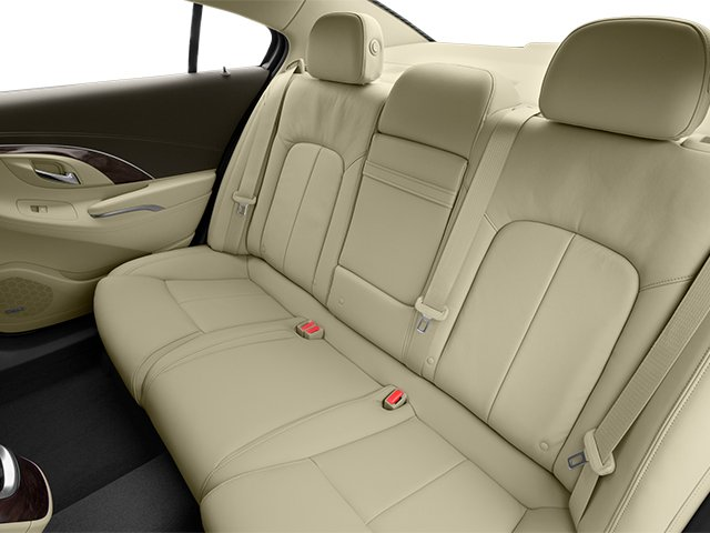 2014 Buick LaCrosse Prices and Values Sedan 4D V6 backseat interior