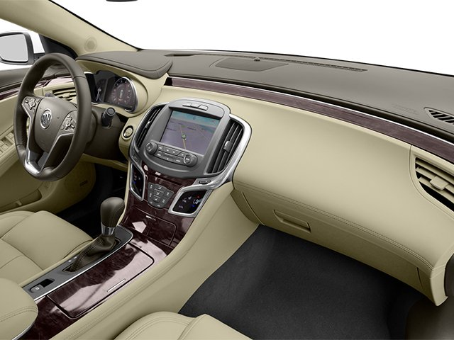 2014 Buick LaCrosse Prices and Values Sedan 4D Leather AWD V6 passenger's dashboard